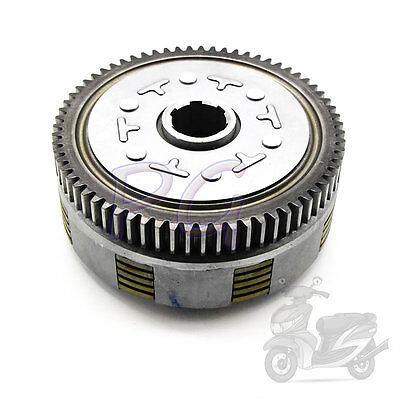 5 Plate 67T Manual Engine Clutch Assembly For Lifan 140cc Dirt Pit Parts