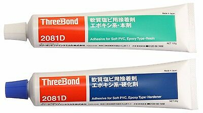 ThreeBond - Epoxy Adhesive Set for Soft PVC (Resin & Hardener) - 200g (TB2081D)