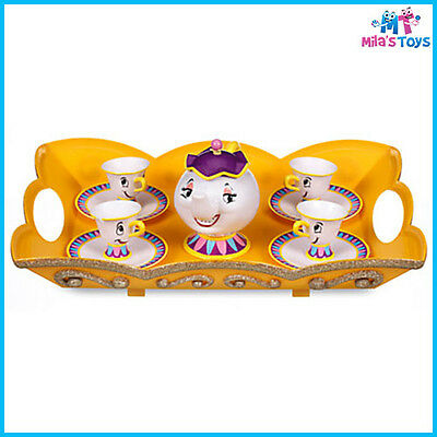 Disney Beauty and the Beast Talking Tea Set Toy brand new in box