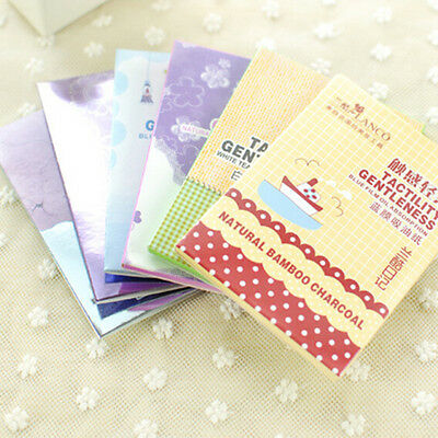 1 Pack Powerful Makeup Facial Oil Control Tissue Oil Absorbing Blotting Paper WF