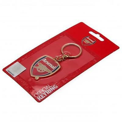 Arsenal Football Club Crest Car Keyring Key Ring Official Product Gunners AFC