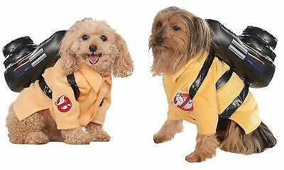 Official Licensed Ghostbusters DOG Pet Fancy Dress Ghostbuster Costume Outfit