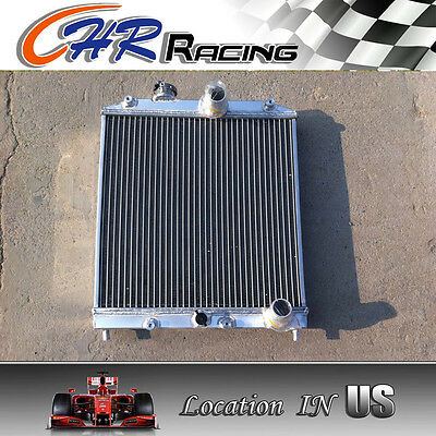 3 ROW for 92-00 ALUMINUM RADIATOR Honda Civic EK EG D15 D16 28MM PIPE