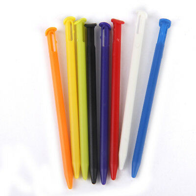 8pcs Multi-color Plastic Stylus Touch Screen Pen Stick for New Nintendo 3DS