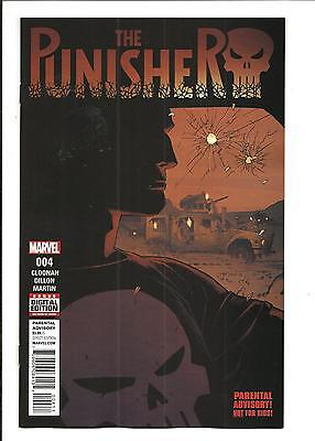 PUNISHER # 4 (MARVEL COMICS, OCT 2016), NM NEW (Bagged & Boarded)