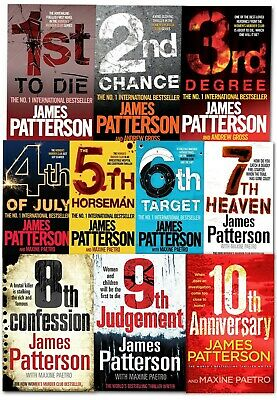 James Patterson NYPD Red Series 5 Books Set (Book 1-5) Crime & mystery, Thriller