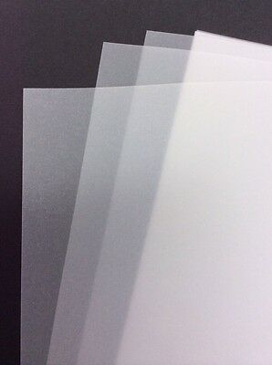50 100 250x 63gsm A4 Loose Sheets Clear Translucent Tracing Paper Tattoo Artist