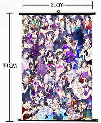 Hot Japan Anime Love Live Wall Poster Scroll Home Decor 743