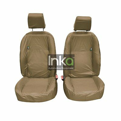 Land Rover Freelander 2 Front Inka Fully Tailored Waterproof Seat Covers Beige