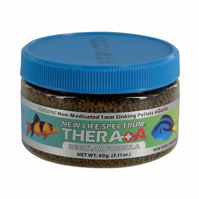 New Life Spectrum Thera A Anti-Parasitic Formula - 1 mm Sinking Pellets - 60 g