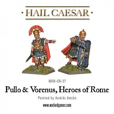 Warlord Games - Hail Caesar - Caesarian - Pullo and Venerus - 28mm