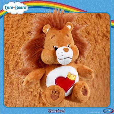 Care Bears Bean Bag 8in Beanie Plush Soft Collectable Toy Brown Brave Heart Lion