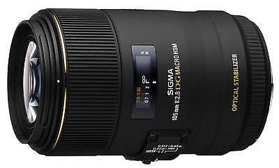 Sigma 105mm F2.8 EX DG OS HSM Macro Lens in Nikon AF fit (UK Stock) BNIB
