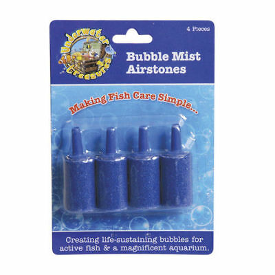 Underwater Treasures Bubble Mist Airstone - Cylindrical - 4 pk