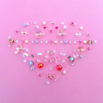 Handcrafted Pink Diamond Jewelry Card