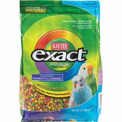 Exact Rainbow Daily Diet for Parakeets & Lovebirds - 2 lb