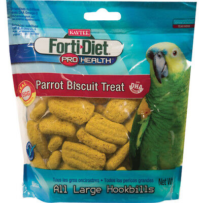 Forti-Diet Pro Health Parrot Biscuit Treat for All Large Hookbills - 10 oz