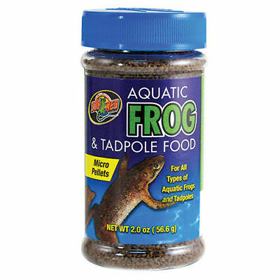 Zoo Med Aquatic Frog & Tadpole Food - 2 oz