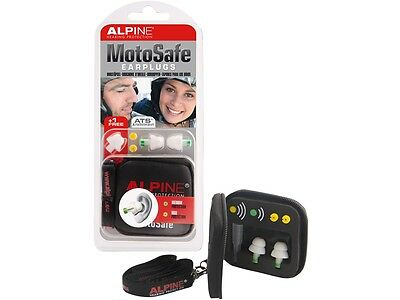 Alpine MotoSafe Hearing protection Ear plugs for Motorcycle riders