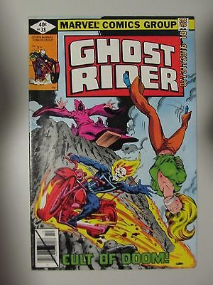 1979 Ghost Rider #38 Marvel Comics.  Cult Of Doom!  Very Fine+ Vf+ 8.5