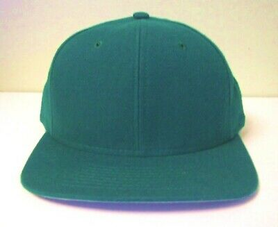 Twin City Mens Green Baseball Hats Ball Cap USA Straps Short Bill One Size  new b6ae36427c2