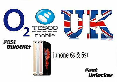 O2 Tesco UK official factory unlock code for apple iPhone 6s 6s+ plus SE
