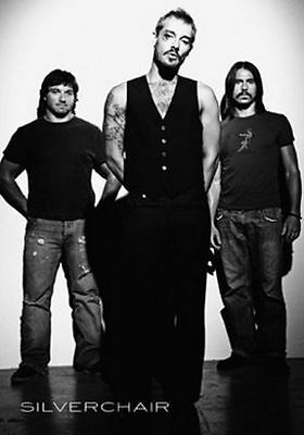 Silverchair Group Shot Music Poster Print B/W Daniel Johns New 24x36 HS6924