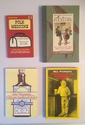Australian Folklore / Folk Medicine Book Lot | Bill Wannan Bulk Set.