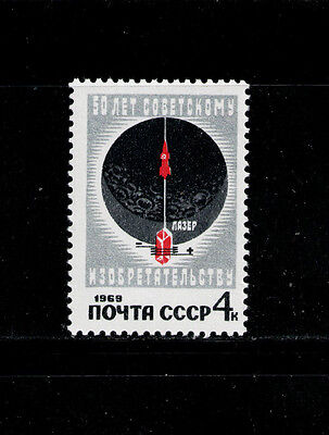 RUSIA/URSS RUSSIA/USSR1969 MNH SC.3610 Space