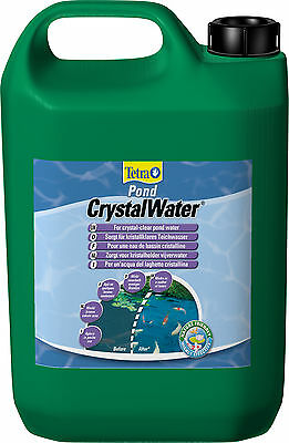 Tetra Pond CrystalWater 3 L safely and quickly removes floating particles