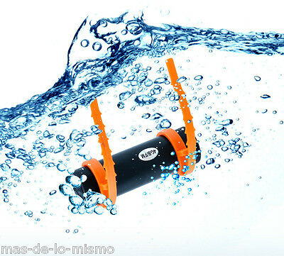 Reproductor MP3 Acuatico Swimming 8GB Radio FM Auriculares de Tapon Jack 3.5mm