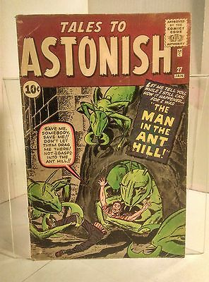 Tales to Astonish #27 (1959) 2.5 GD+ Lee/Kirby 1st Appearance of Ant-Man
