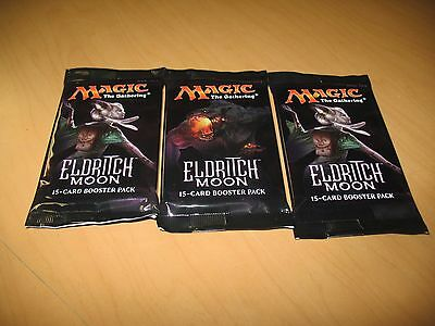 3x MTG: Eldritch Moon SEALED Booster Packs MtG Draft Pack Magic the Gathering