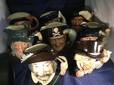 Choice of Large Vintage Royal Doulton Character Jugs -Characters from Literature