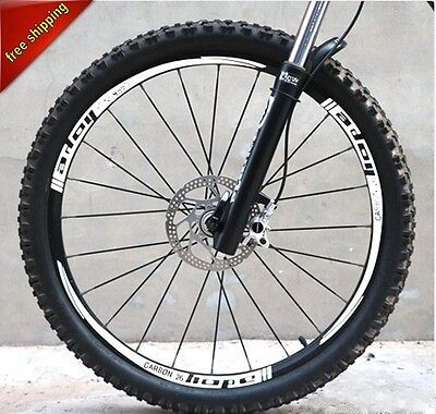 HOPE Mountain bike bicycle wheel Rim reflective stickers for MTB DH Race Decals