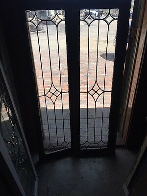 Sg 826 2 Available Price Separate Antique Leaded Transom Window
