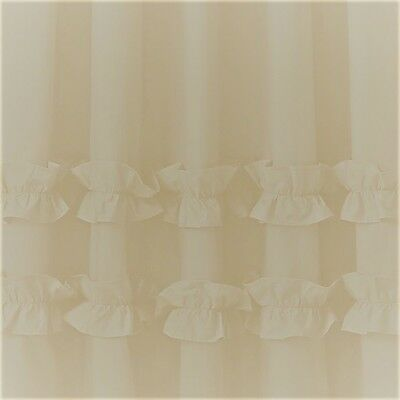 Triangle hills fabric shower curtain 1.8m new free shipping
