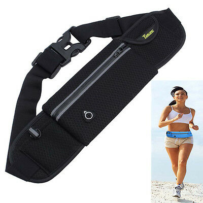 Waterproof Outdoor Sports Running Cycling Pack Belt Pocket Bum Waist Pouch Bag
