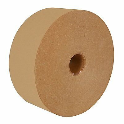 "Central K2800 Medium Duty Water Activated Paper Tape 3"" x 600', 2 ROLLS! FREE SH"