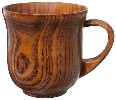 Natural Wood Elegant Wooden Mug Cup Tea Coffee