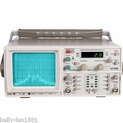 1PCS Atten AT5011A Spectrum Analyzer 150K-1GHz with Tracking Generator 110-220V