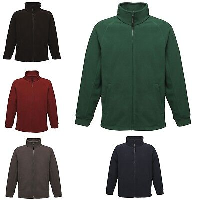 Regatta Mens Thor Full Zip Anti Pill Fleece Workwear Outdoor Jacket TRF532
