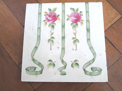 Victorian Floral Decorative Minton Tile