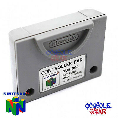Nintendo 64 - N64 Genuine Official Memory Card / Controller Pak / Pack
