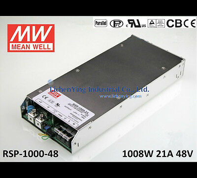 Mean Well USA RSP-1000-48  48 volt 1000 w power supply