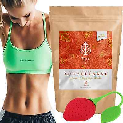 ORGANIC Detox Tea - 28 Day - Teatox - Skinny Tea Me - Weight Loss - Fat Loss