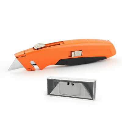 Utility Stanley Knife Blade Retractable Heavy Duty Box Cutter Multi Colors