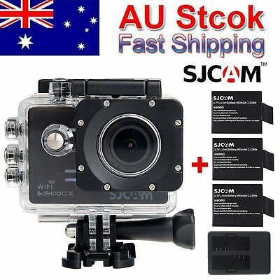 Extra Battery/Charger SJCAM SJ5000X Elite 4K HD1080P Action Sport WIFI Camera DV