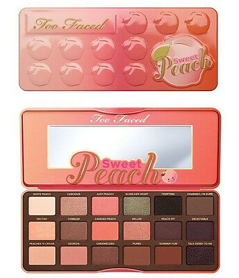Palette Sweet Peach Too Faced Fard à paupières Eyeshadow Palette Makeup