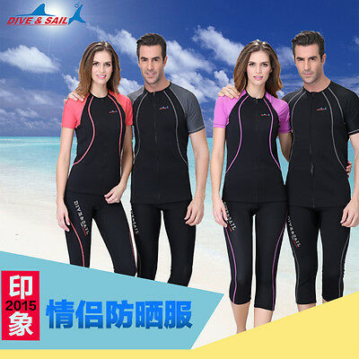 Hot 1.5mm Open Front Sunscreen Jellyfish Clothing Wetsuit Snorkeling Shorts
